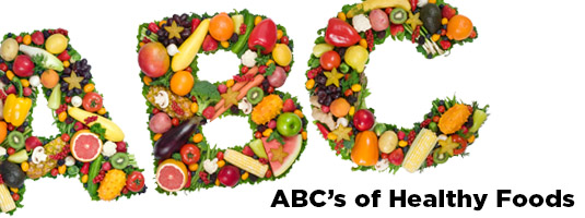 ABCs in food