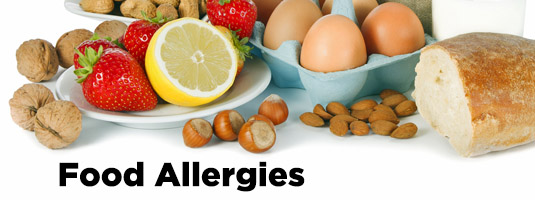 Foods trigger allergy